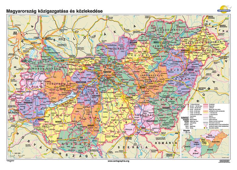 magyarország térkép ár Cartographia Tankönyvkiadó Kft. magyarország térkép ár